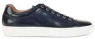 HUGO BOSS Rubber-sole trainers in full-grain calf leather