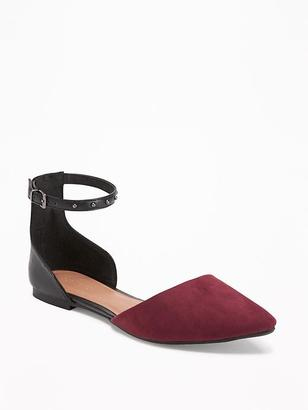 Ankle-Strap D'Orsay Flats for Women $26.94 thestylecure.com