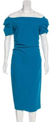 Chiara Boni Short Sleeve Midi Dress