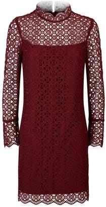 Sandro Crochet Mini Dress