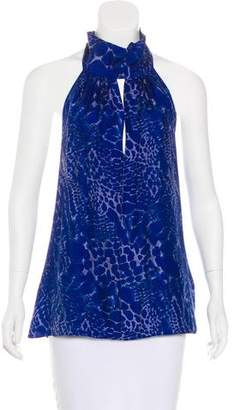 Rachel Zoe Sleeveless Printed Top w/ Tags