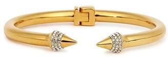 Vita Fede Mini Titan Gold-plated Twin Spike Bracelet