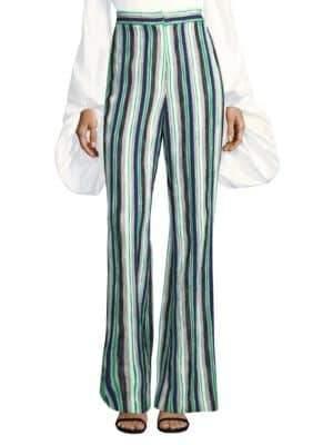 AMUR Nicole Striped Pants