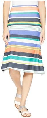 Nally & Millie Multicolor Stripe Skirt Women's Skirt