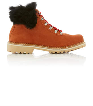 Montelliana Sequoia Suede And Fur Apres Ski Boots