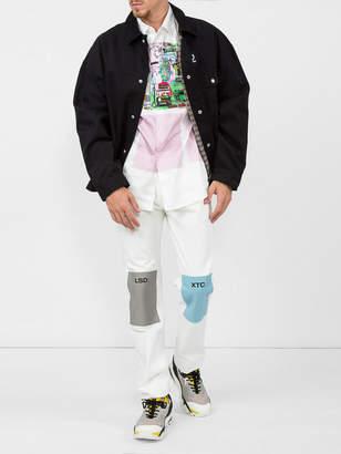 Raf Simons Fred Perry X Oversized denim jacket