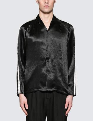 SASQUATCHfabrix. Notched Collar Satin Shirt