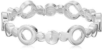 Nine West Edgy Disco -Tone Stretch Bracelet