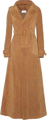 Maison Margiela Suede trench coat $8,245 thestylecure.com