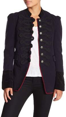 Free People Seamed & Structured Military Coatee