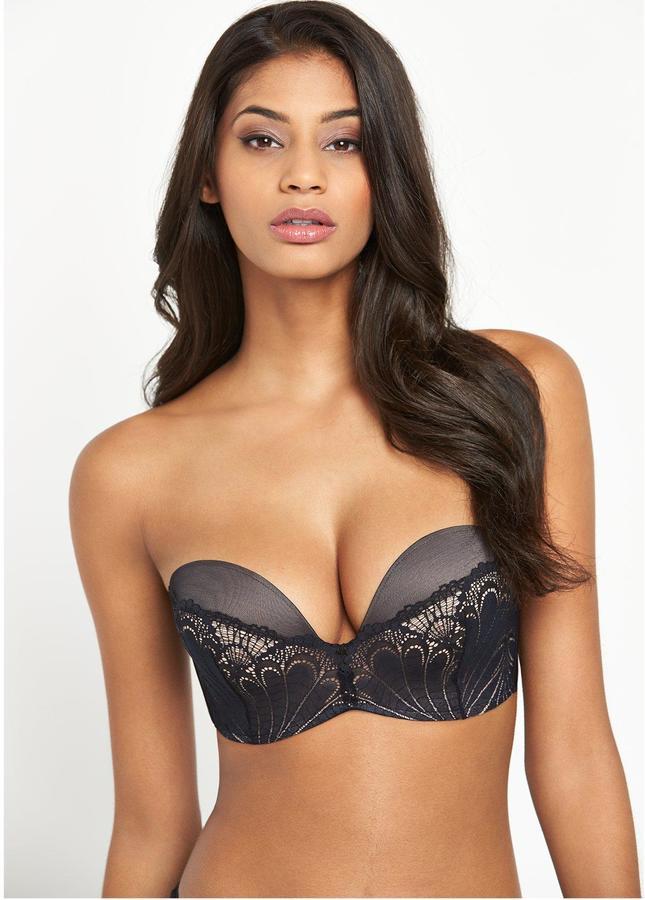 wonderbra ultimate strapless lace bra women. Black Bedroom Furniture Sets. Home Design Ideas