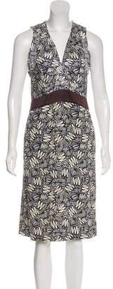 Celine Silk Midi Dress