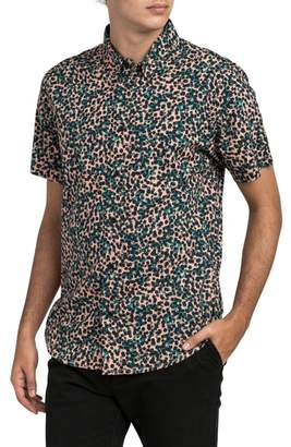 RVCA Barrow Short Sleeve Woven Shirt