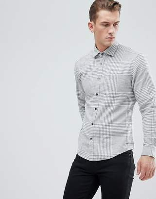 Esprit Regular Fit Brushed Check Shirt