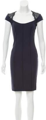Blumarine Short Sleeve Knee-Length Dress