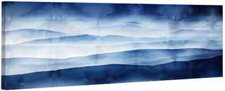 Parvez Taj Blue Mountains Premium Canvas Art Print