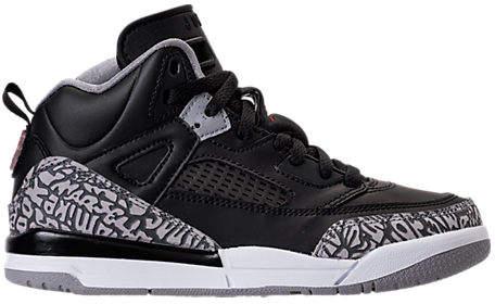 Kids' Preschool Jordan Spizike Basketball Shoes, Black