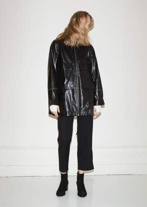 Helmut Lang Leather Anorak