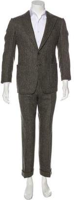 Tom Ford Herringbone Wool Suit