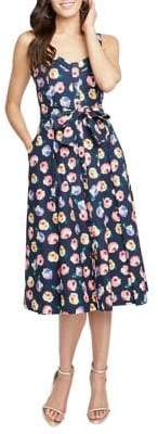 Rachel Roy Clara Printed Day Dress