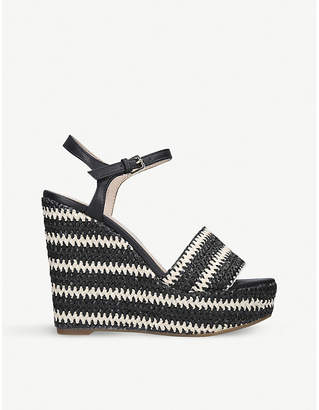 Aldo Brorka woven wedge sandals