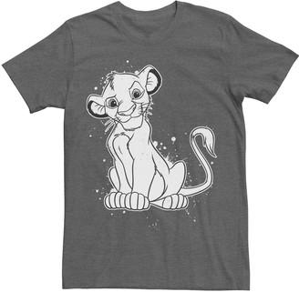 Simba Licensed Character Men's Disney's Lion King Tee