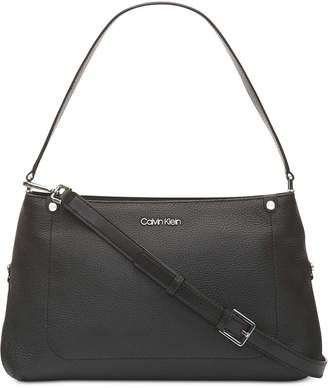 Calvin Klein Leather Jackson Crossbody