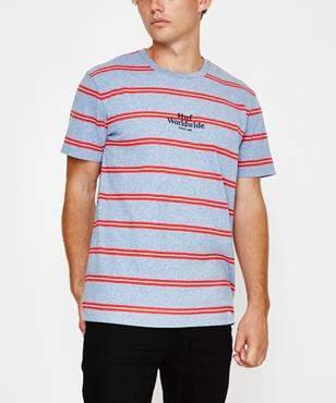 HUF Golden Gate Stripe T-shirt Blue