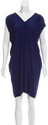 Zero Maria Cornejo Silk Short Sleeve Dress