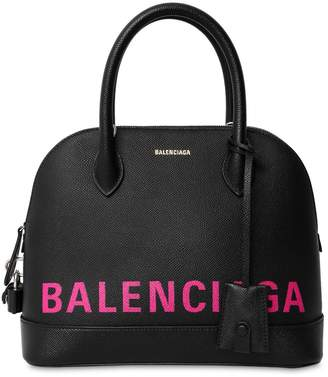 Balenciaga S Ville Leather Tote Bag