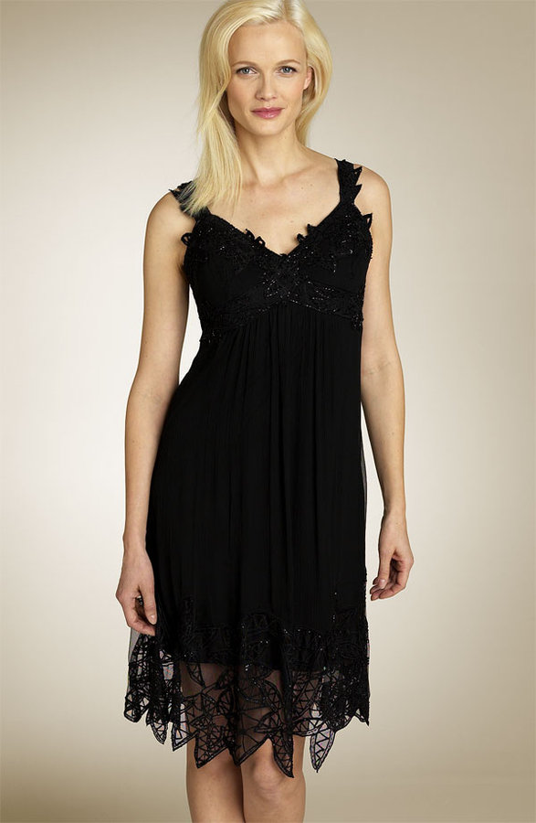 Patra Beaded Lace Dress