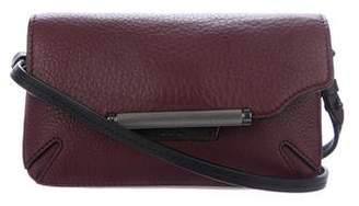 Rag & Bone Grained Leather Mini Flap Bag