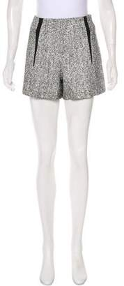 Rag & Bone High-Rise Tweed Shorts