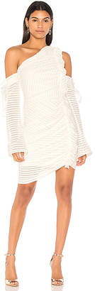 Rebecca Vallance Avila One Shoulder Rouched Dress