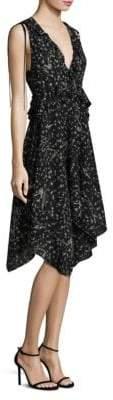 Derek Lam Ruffled Fit-&-Flare Dress