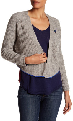 Zadig & Voltaire Monday Pointelle Cashmere Cardigan $460 thestylecure.com
