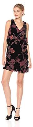 Jessica Simpson Women's Printed Velvet Pop Over