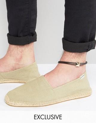 DesignB London DesignB Double Cord Anklet With Gold Detail $12.50 thestylecure.com