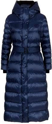 Burberry Long Hooded Puffer Coat