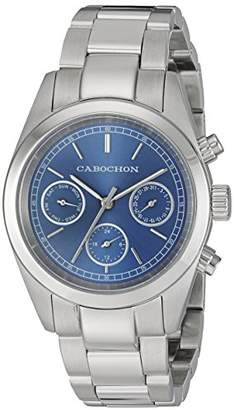 Cabochon Women's 1103 De Ce Monde Analog Display Swiss Quartz Silver Watch