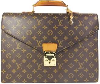 Louis Vuitton Serviette Ambassadeur leather tote