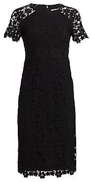 Shoshanna Women's Beaux Guipure Lace Sheath Dress - Size 0