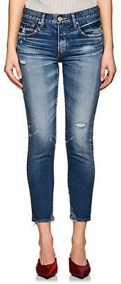 Moussy VINTAGE Women's Velma Distressed Skinny Jeans - Blue