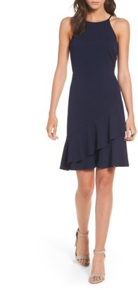 Women's Soprano Ruffle Hem Knit Dress $42 thestylecure.com