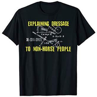 Funny Horse Riding Tshirt Dressage Shirt Horse Lover Tee