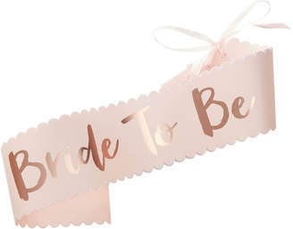 Oasis BRIDE-TO-BE SASH