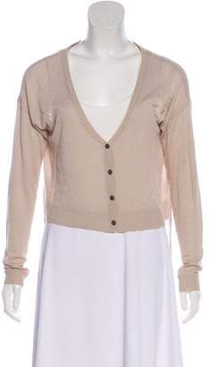 Elizabeth and James High-Low Button-Up Cardigan