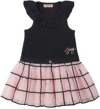 Juicy Couture Windowpane Skirt Dress