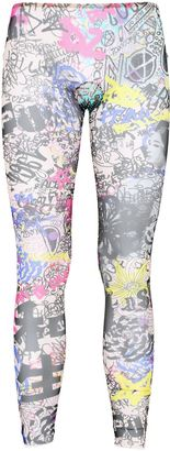 Manga Printed Sheer Leggings $224 thestylecure.com