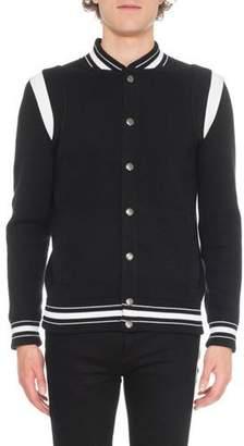 Givenchy Men's Knit Bomber Jacket